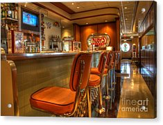All American Diner 3 Acrylic Print by Bob Christopher