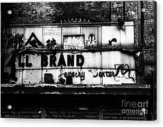 All Brand Acrylic Print by John Farnan