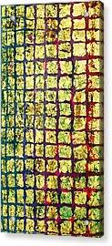 All That Glitters 1 Acrylic Print by Rita Bentley