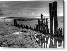 Acrylic Print featuring the photograph All That Remains by Michele Cornelius