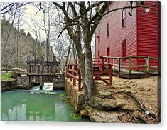Acrylic Print featuring the photograph Alley Spring Mill 34 by Marty Koch