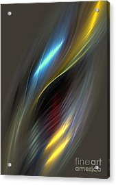 Alluring Colors Acrylic Print by Greg Moores