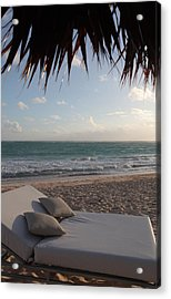 Acrylic Print featuring the photograph Alluring Tropical Beach by Karen Lee Ensley
