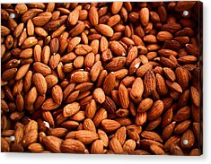 Almonds Acrylic Print by Tanya Harrison