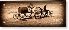 Almost A Tractor Acrylic Print