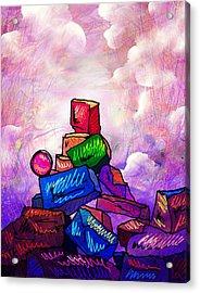 Almost There Acrylic Print by Rachel Christine Nowicki