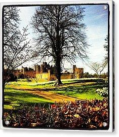 #alnwick #alnwickcastle #castle Acrylic Print
