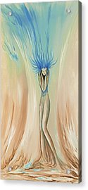 Alone Acrylic Print by David Junod