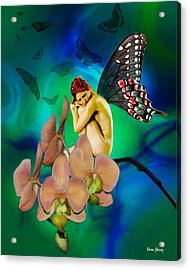Alone I Wait Acrylic Print by Diana Shively