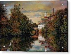 Along The Blackstone River Acrylic Print
