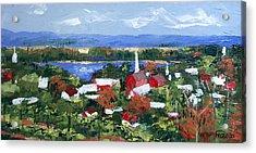 Along The Missouri  Acrylic Print by Anthony Falbo