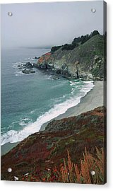 Along The Pacific Coast Acrylic Print
