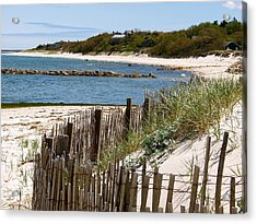 Along The Shoreline Of Brewster Beach Acrylic Print