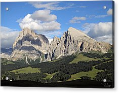Alpe Di Siusi Acrylic Print
