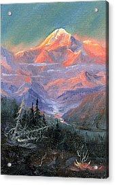 Alpen Glow Acrylic Print