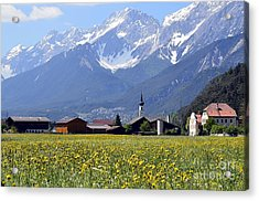 Alpine Mood Acrylic Print
