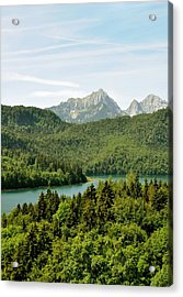 Acrylic Print featuring the photograph Alps From Bavaria by Rick Frost