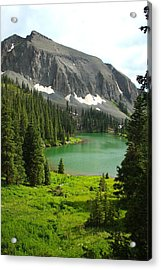 Acrylic Print featuring the photograph Alta Lake Colorado by Drusilla Montemayor