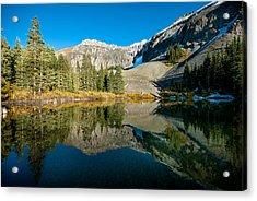 Alta Lakes Acrylic Print by Josh Whalen