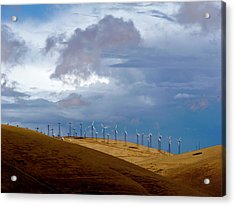 Altamont Pass California Acrylic Print by Amelia Racca