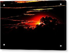 Altered Sunset Acrylic Print
