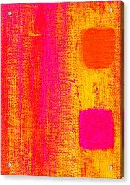 Alternate Feelings Acrylic Print by James Mancini Heath