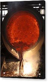 Aluminium Factory Acrylic Print