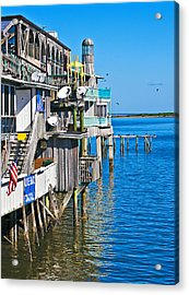 Always Blue - Cedar Key Acrylic Print