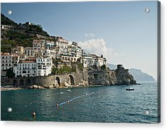 Amalfi Point Acrylic Print by Jim Chamberlain