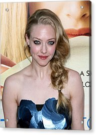 Amanda Seyfried  At Arrivals Acrylic Print by Everett