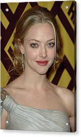 Amanda Seyfried At Arrivals For After Acrylic Print by Everett