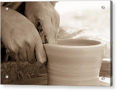 Amazing Hands Acrylic Print by Emanuel Tanjala