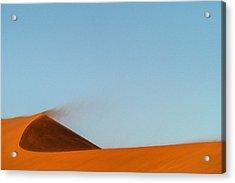 Amber Dust Acrylic Print