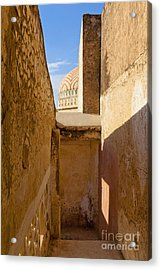 Amber Fort Stairway Acrylic Print by Inti St. Clair