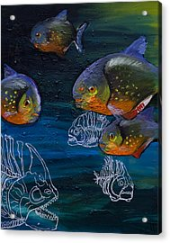 Ambiguity  Acrylic Print by Anthony Cavins