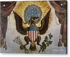 America - Great Seal Acrylic Print by Granger