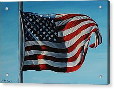 America The Beautiful Acrylic Print by Daniel W Green