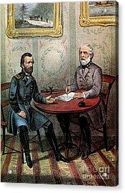 American Civil War  Acrylic Print by Photo Researchers
