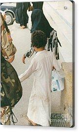 American In Bahrain Acrylic Print