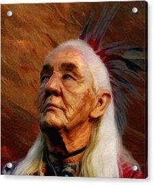 American Indian  Acrylic Print