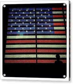 American Lights Acrylic Print