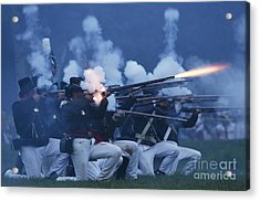 American Night Battle Acrylic Print by JT Lewis