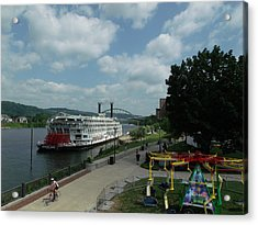American Queen Acrylic Print by Willy  Nelson