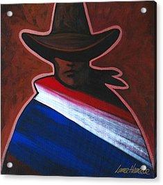 American Rider Acrylic Print by Lance Headlee
