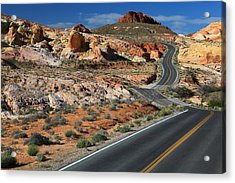 American Roadtrip Acrylic Print by Achim Thomae