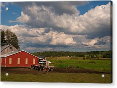 Acrylic Print featuring the photograph America's Breadbasket by Cindy Haggerty