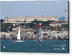 America's Cup In San Francisco - China Firefall - 7d18334 Acrylic Print
