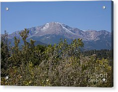 Acrylic Print featuring the photograph Americas Mountain by Marta Alfred
