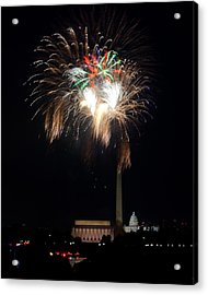 America's Party Acrylic Print by David Hahn