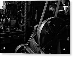 Acrylic Print featuring the photograph Ames Mfg Co by Tom Singleton